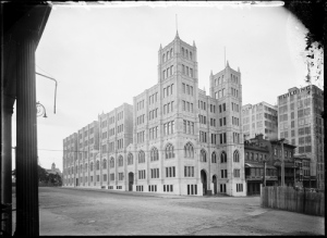 Positive image from a scan of a Powerhouse Museum, Tyrrell Collection, glass plate negative