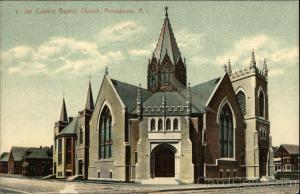 Calvary Baptist Church Providence, RI