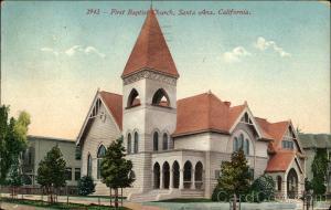 First Baptist Church Santa Ana, CA